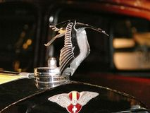 Detail of a Hispano-Suiza car royalty free stock photography