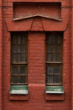 Detail of the historic brick building. Russia. Moscow Stock Image