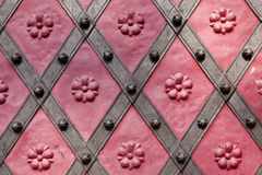 Detail of historic door Stock Image