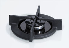 Detail of hob gas burner Stock Photography