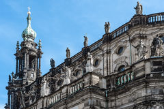 Detail of Hofkirche Dresden Royalty Free Stock Images