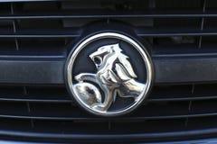 Holden Volt logo. Detail of the Holden Volt car in Sydney, Australia. It is plugin hybrid car manufactured by General Motors Stock Image
