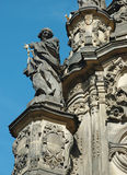 Detail of Holy Trinity Column in Olomouc,unesco heritage Stock Photography