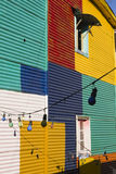Detail of home in La Boca Royalty Free Stock Images
