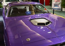 Detail of a Hot Rod Car at CIAS 2014 Royalty Free Stock Photography