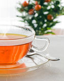 Detail of  hot tea Royalty Free Stock Photo
