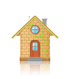 Detail House Illustration Royalty Free Stock Photography