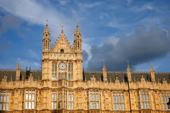 Detail of House of Parliament. London, UK Royalty Free Stock Photography