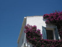 Detail of a house. Portlligat, Catalonia Royalty Free Stock Photos