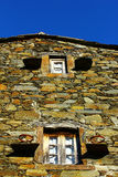 Detail of an house at a portuguese schist village Stock Photo