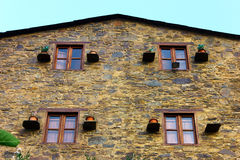 Detail of an house at a portuguese schist village Stock Photography