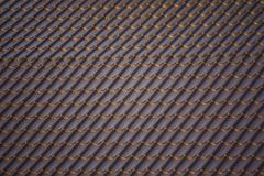 Detail of a house roof tiles Stock Photo