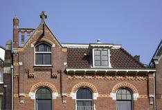 Detail of house in Utrecht. Netherlands Stock Image