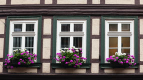 Detail from house in Wernigerode Stock Photos