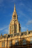 Detail of Houses of Parliament, London Royalty Free Stock Images