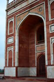 Detail. Humayun's tomb. Delhi. India Royalty Free Stock Images