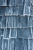 Detail of ice covered hut Royalty Free Stock Photography