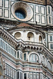 Detail of Il Duomo, Florence - the marble facade (II) Stock Photos