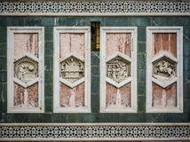 Detail of Il Duomo, Florence - a panel Royalty Free Stock Photo