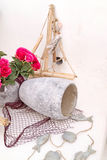Detail image from a greek touristic shop on Mykonos island, Gree Royalty Free Stock Photography