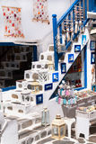 Detail image from a greek touristic shop on Mykonos island, Gree Stock Photography