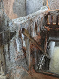 Detail In A Salt Mine Stock Photography