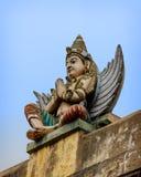 Detail  of indian Brihadeshwara Temple Royalty Free Stock Images