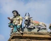 Detail  of indian Kapaleeswarar temple Royalty Free Stock Photography