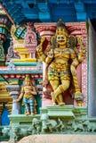 Detail  of indian Meenakshi temple Stock Photos