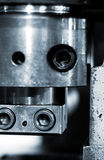 Detail of industrial machinery Royalty Free Stock Photos
