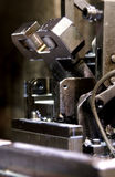 Detail of industrial machinery. Close up of industrial machinery royalty free stock image