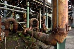 Detail of industrial public park Stock Photos
