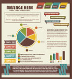 Detail infographic Royalty Free Stock Image