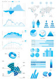Detail infographic illustration Stock Image
