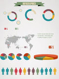 Detail infographic vector illustration. Royalty Free Stock Photography