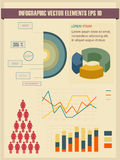 Detail infographic vector illustration. Stock Images