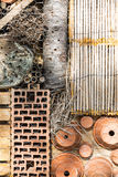 Detail Insect Hotel Stock Photography