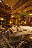 Detail of the Interior at the Fairmont Hotel Royalty Free Stock Image