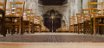 Cathedral of Autun, France Royalty Free Stock Photos