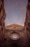 Detail of the interior of San Galgano Abbey, Tuscany Stock Photo