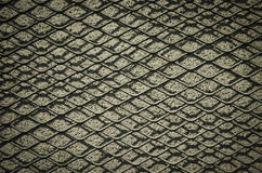 Iron net. Detail of  iron net textured background Stock Photography