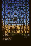 Detail, ironwork window,  Mosque of Mohammed Ali Stock Photo