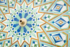 Detail of islam mosaic fountain Royalty Free Stock Photos