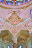 The detail of Islamic architecture. The artisictic design of a mosque, located in Malaysia Stock Images