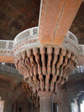 Detail, Islamic  decorations on red sandstone Stock Image