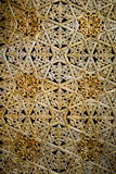 The detail of islamic pattern decor Royalty Free Stock Images
