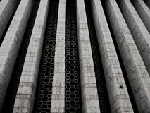 Detail of the Istiqlal mosque Royalty Free Stock Photo