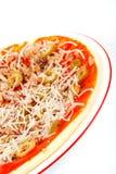 Detail of Italian pizza Royalty Free Stock Photo