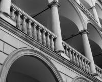 Detail of Italian yard. Lviv Stock Images