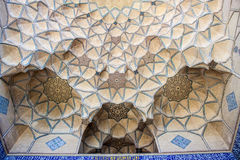 Detail of Jameh Mosque in Isfahan Stock Image